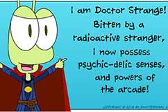 Webcomic Emma And The Alien Comic Strip 011 Doctor Strange Featured