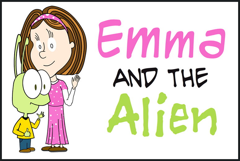 Emma And The Alien Comic Strip