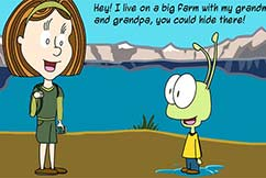 Webcomic Emma And The Alien Comic Strip 006 Whatever Will You Do Featured